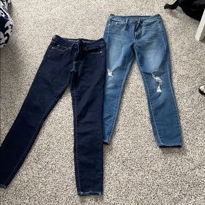 Articles of society mid rise skinny jeans
